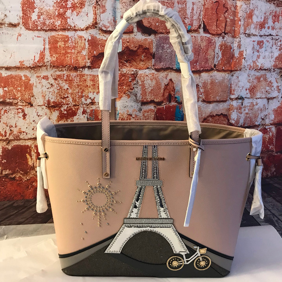 Michael Kors Limited Edition Numbered Paris Tote NWT
